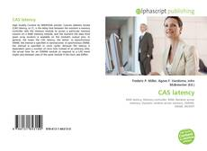 Bookcover of CAS latency