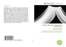 Bookcover of Paradoxe