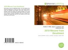 Buchcover von 2010 Merano Train Derailment