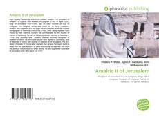 Buchcover von Amalric II of Jerusalem