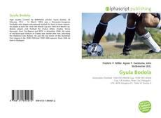 Gyula Bodola kitap kapağı