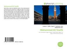 Copertina di Mohammed Ali Tewfik