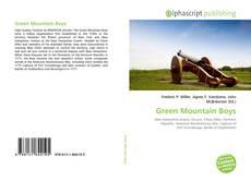 Bookcover of Green Mountain Boys