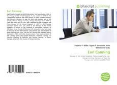 Earl Canning kitap kapağı