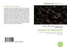 Bookcover of Paradoxe de l'Abondance