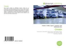 Citroën kitap kapağı