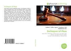 Bookcover of Exchequer of Pleas