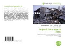Copertina di Tropical Storm Agatha (2010)