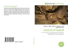 Henry III of England kitap kapağı