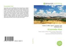 Krasnodar Krai kitap kapağı
