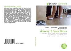 Borítókép a  Glossary of Dance Moves - hoz