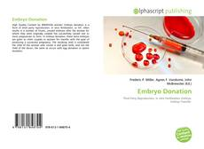 Bookcover of Embryo Donation