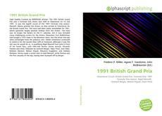 Bookcover of 1991 British Grand Prix