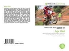 Capa do livro de Baja 1000