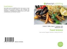 Bookcover of Food Science