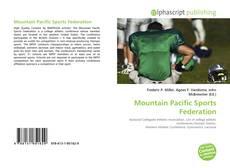 Capa do livro de Mountain Pacific Sports Federation
