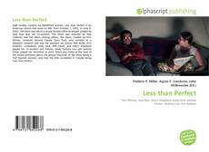 Bookcover of Less than Perfect