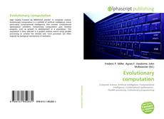 Copertina di Evolutionary computation