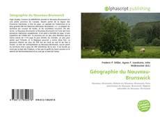 Обложка Géographie du Nouveau-Brunswick