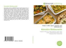 Обложка Komala's Restaurants