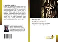 Capa do livro de A cultura da violência