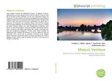 Maquis Ventoux kitap kapağı