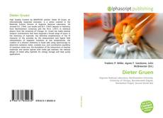 Bookcover of Dieter Gruen