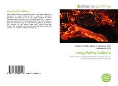 Capa do livro de Long Valley Caldera