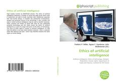 Bookcover of Ethics of artificial intelligence
