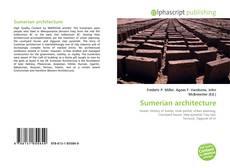 Buchcover von Sumerian architecture
