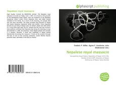 Couverture de Nepalese royal massacre