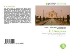 Bookcover of K. R. Narayanan