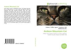 Bookcover of Andean Mountain Cat