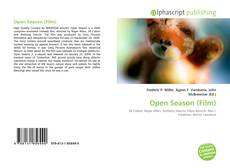 Open Season (Film) kitap kapağı