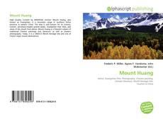 Mount Huang kitap kapağı