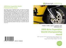 2009 Brno Superbike World Championship round的封面