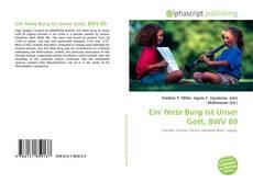 Обложка Ein' feste Burg Ist Unser Gott, BWV 80