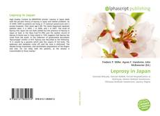 Bookcover of Leprosy in Japan