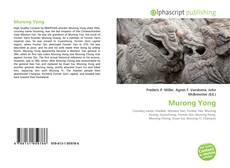 Borítókép a  Murong Yong - hoz
