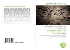 Portada del libro de Emperor Taiwu of Northern Wei