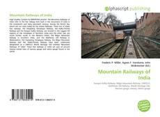 Portada del libro de Mountain Railways of India