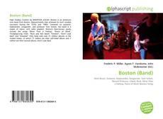 Portada del libro de Boston (Band)