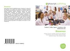 Bookcover of Biosensor