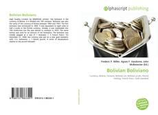 Bookcover of Bolivian Boliviano