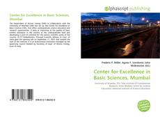 Bookcover of Center for Excellence in Basic Sciences, Mumbai