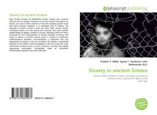 Bookcover of Slavery in ancient Greece