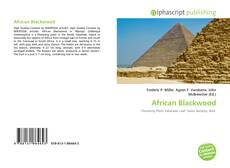 Обложка African Blackwood