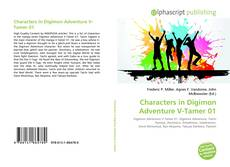 Buchcover von Characters in Digimon Adventure V-Tamer 01