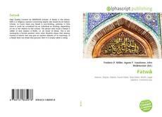 Bookcover of Fatwā
