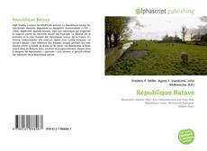 Couverture de République Batave